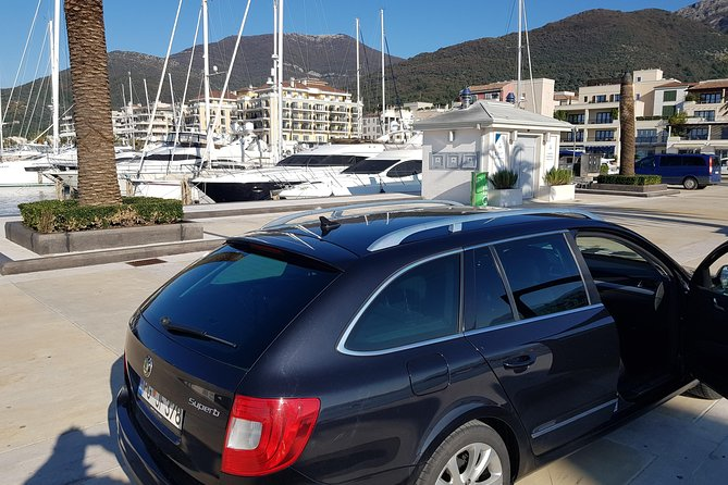 Airport Taxi Transfer Podgorica to KOTOR