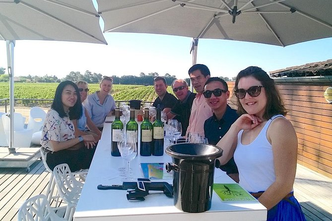 Medoc Region Afternoon Wine Tour with Winery Visits & Tastings from Bordeaux