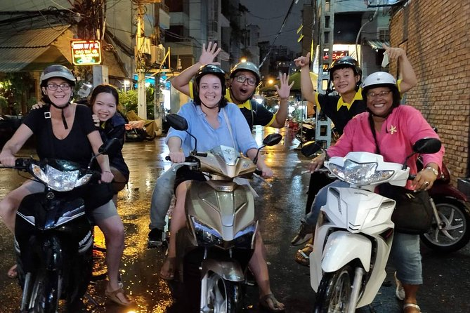 Private Street Food Tour by Scooter with Hotel Pickup