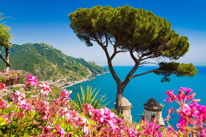 Amalfi Coast Private Boat Excursion from Ravello with Hotel Pickup