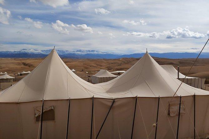 Agafay Desert Camel Ride with SunSet