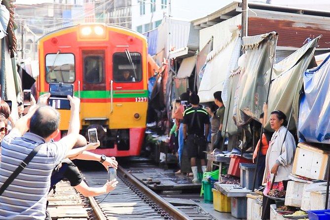 Maeklong Railway Market, Tha Kha Floating Market And The Hidden Gems