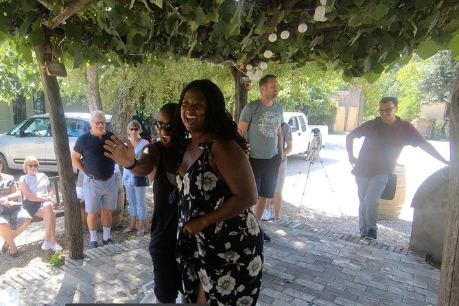 Grape stomping and harvest experience: wine & tasting tour Rome