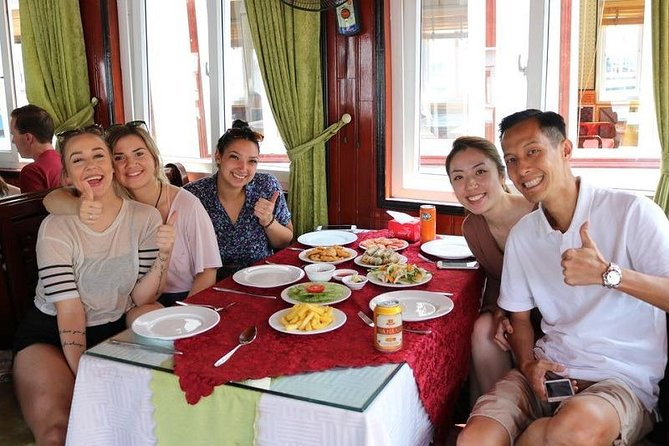 Join In Halong Islands and Cave Day Tour with National Highway Transfer