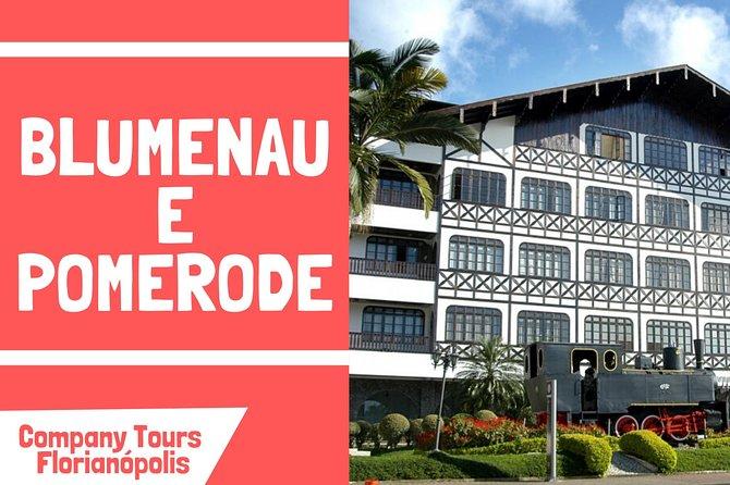 Vale Europeu Blumenau e Pomerode - Saídas de Florianópolis