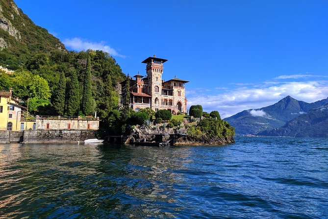 Lake Como: Venetian-style Boat Cruise to Villas (small groups only)