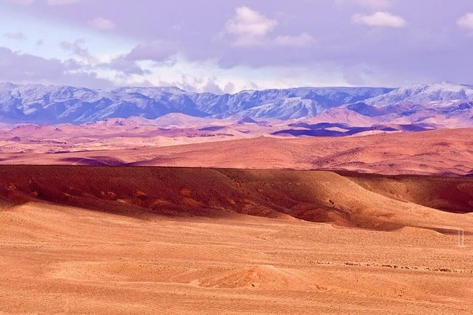 Private Day Trip from Marrakech to Ourika +Agafay Desert with Sunset Camel ride