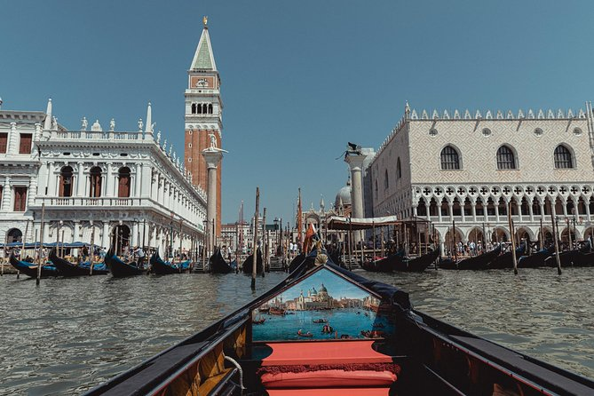Shared gondola ride from San Marco