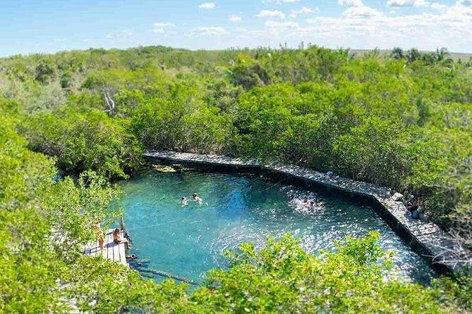 Tour Holbox, Cenote Yalahau & Pasion Island
