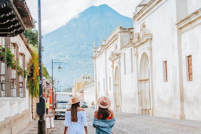 Walking through Antigua's magical streets