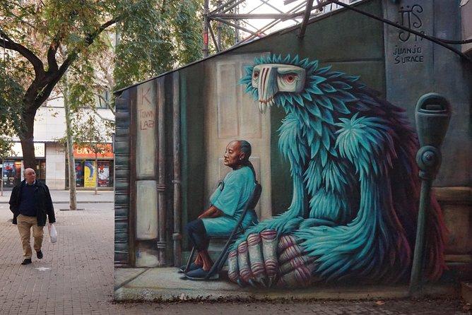 Street Art en Graffiti Tour in Barcelona - Raval