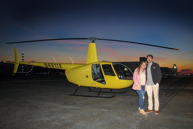New Orleans City Lights Night Helicopter Tour: 24-30 minutes