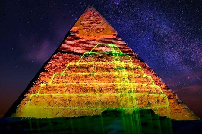Pyramids Sound & Light Show + Fine Dining photo 3