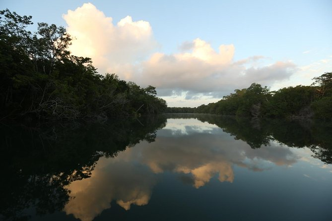 Tour 2 days Calakmul, Kohunlich and Balamkú, and enjoy the Rio Hondo by kayak.