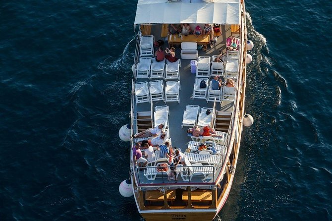 Dubrovnik full-day Elaphiti islands cruise all-inclusive with double decker-boat