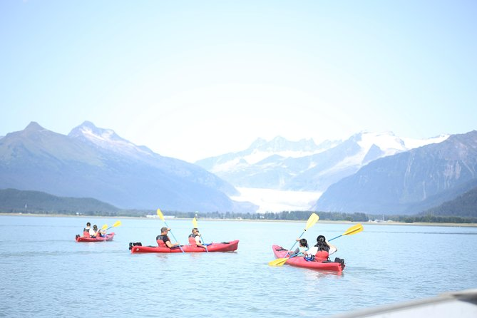 Mendenhall Glacier View Sea Kayaking