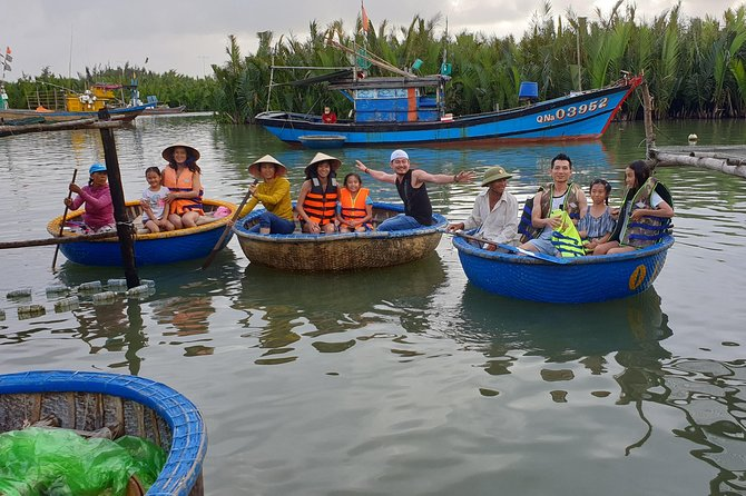 Private Shore Excursions from Chan Port - Basket Boat- Foot Massage- Hoi An City