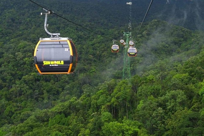 Private Shore Excursions from Chan May port to Ba Na Hills & Golden Bridge