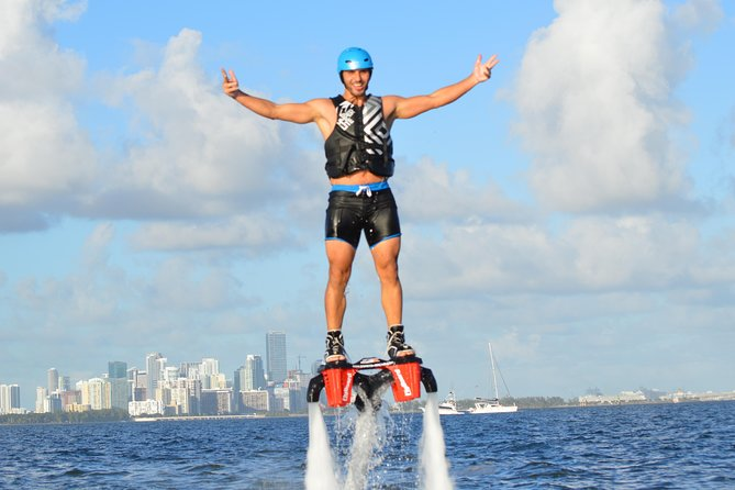 Flyboarding with Miami Watersports