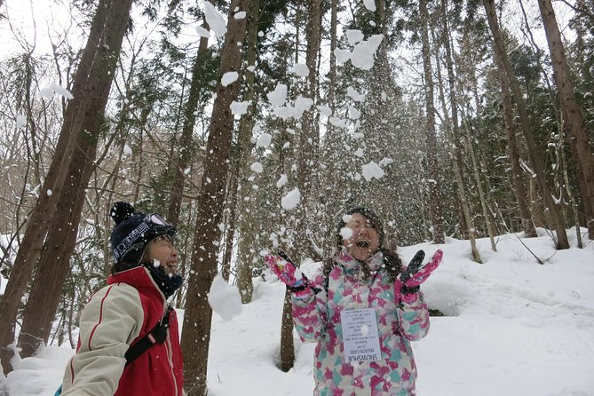 [5 minutes from Minakami Inter] Snow walking half-day tour enjoyed by the family
