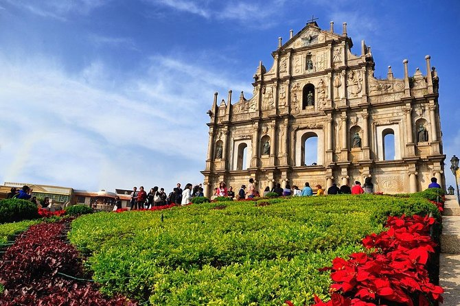 Historical Macau Sightseeing & Landmarks Tour (no meal)