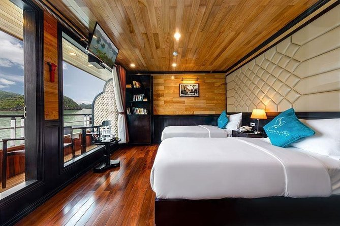 Serenity Cruise 2 Days 1 Night - Halong Bay- Cat Ba Lan Ha- Cat Ba