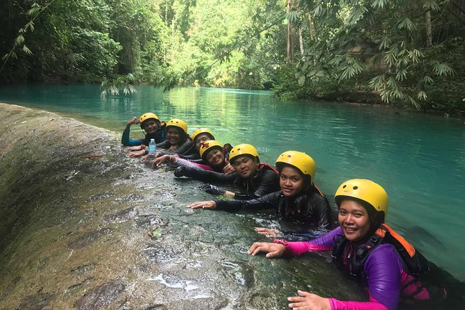 South Cebu One Day Tour Canyoneering adventure and Moalboal island hopping photo 1