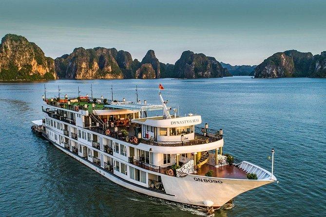 Dynasty Of The Sea Cruise 5 Star - Ha Long Bay & Lan Ha Bay 3 Days 2 Nights