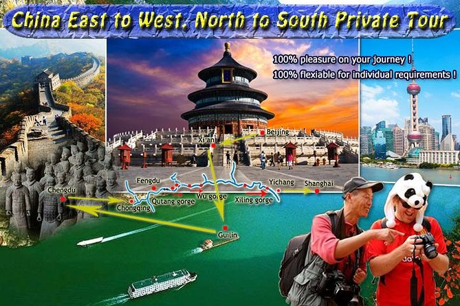 [14 days] Tour China 2020 from East to West, from North to South. All-Inclusive