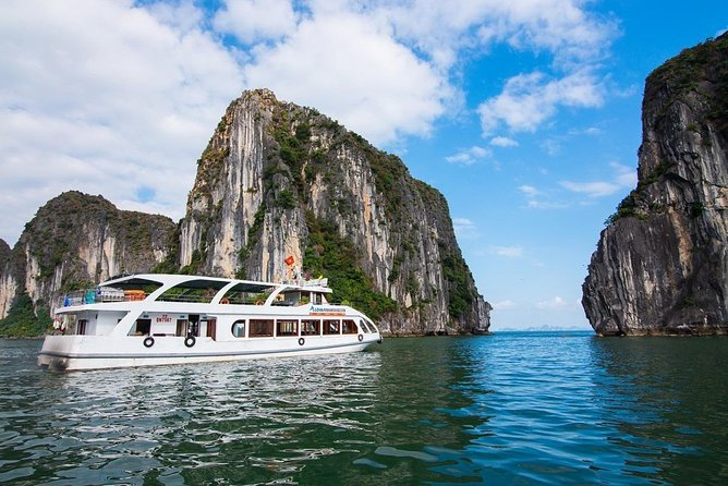 Halong Premium Cruise-Full Day Tour with Lunch, Caving, Titop Hiking,Kayaking...
