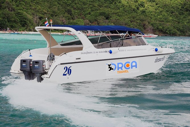 Coral Island Private Charter Tour with Luxury Speedboat