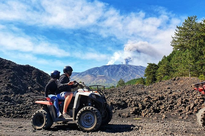 Etna quad tour - half day