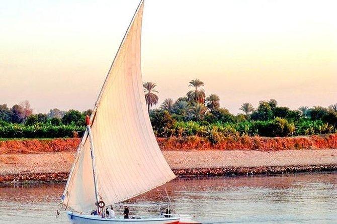 Luxor: Half Day Felucca Boat Ride with Banana Island Visit