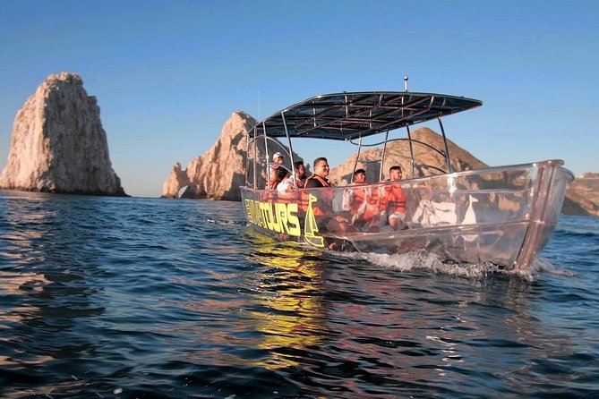 Cabo's Only Clear Boat Tour- see it all in one tour!