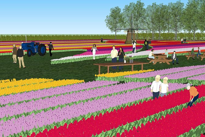 Skip the Line: Visit a Real Tulip Farm Ticket