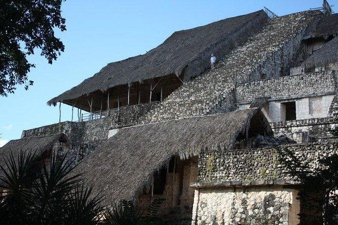 Ek Balam, Buffet lunch and Hubi Ku Cenote from Valladolid