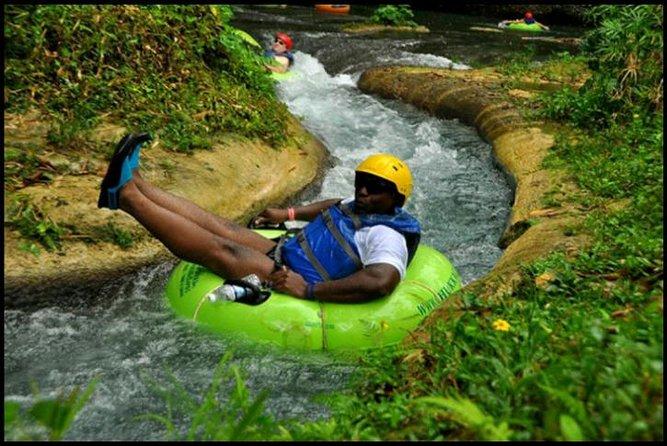 Blue Hole and River Tubing Combo from Ocho Rios