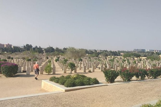 El-Alamein WWII Memorial Day Tour from Cairo