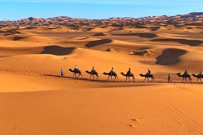 3 days desert from Marrakech to Fes with a Luxury Camp stay in the desert