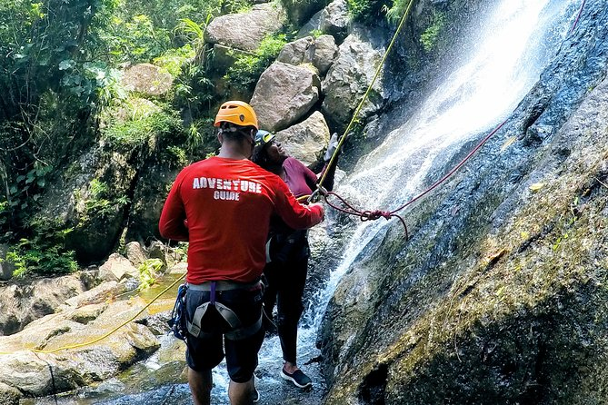 Ultimate Waterfall Rappelling