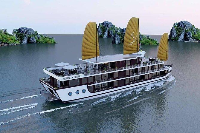 SERENITY Cruise 5 stars - Ha Long Bay & Lan Ha Bay 3 Days 2 Nights