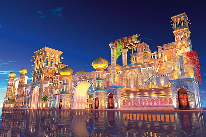 Dubai Global Village & Miracle Garden Tour With Sharing Transfers