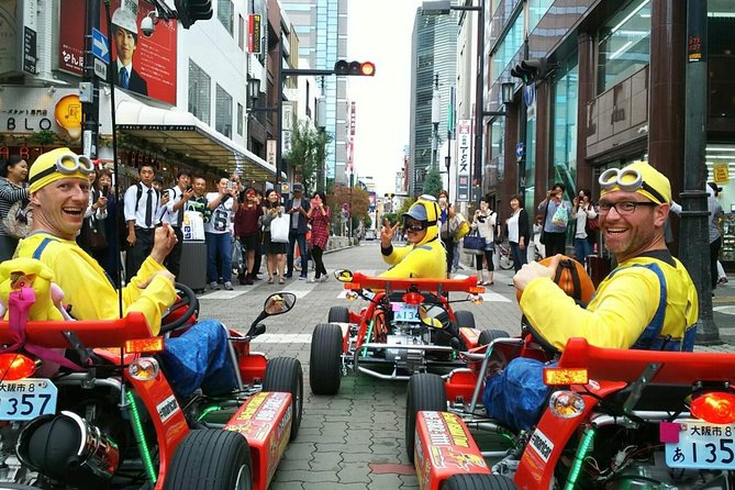 Street Go-Kart Group Tour in Osaka