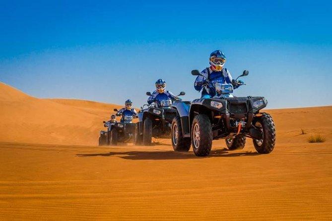 Desert Dunes Safari, Quad Bike 1 hour and Camel Ride 30 minutes