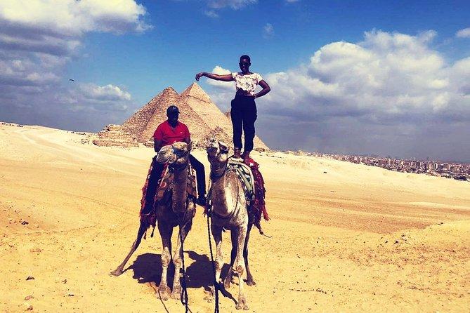 Giza Pyramids Camel Ride, 5 hours tour