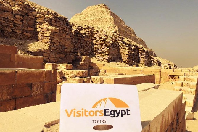 Visit Giza Pyramids, Sphinx & Saqqara Pyramids