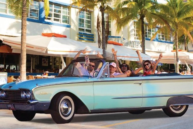 HopOn HopOff in CLASSIC CONVERTIBLE | Miami Beach/Wynwood/Downtown/LittleHavana photo 1