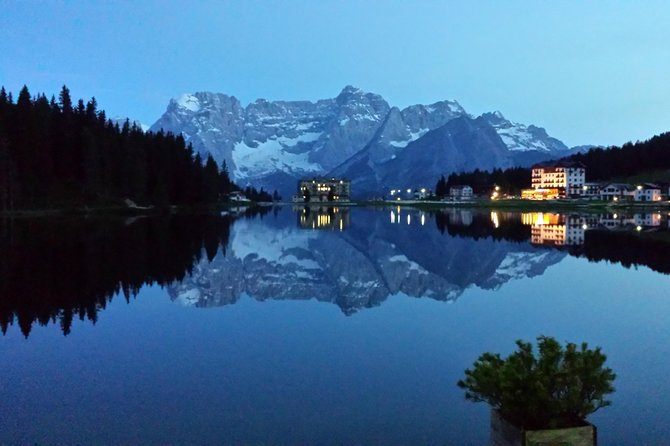 Lakes of the Dolomites: Misurina, Braies, 3 Peaks & Cortina starting from Venice