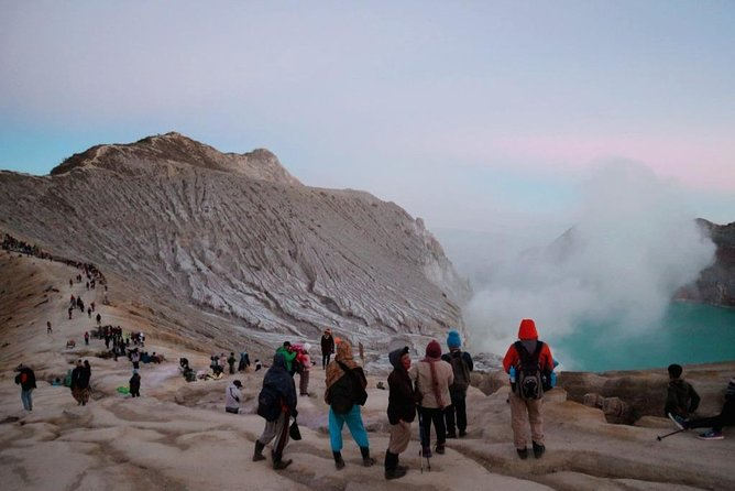 Blue Fire Ijen Crater Trekking From Bali