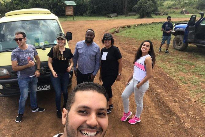 Classic Nairobi park tour/Elephant and Giraffe Centre